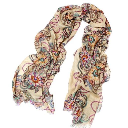 (特賣)四季可用波西米亞復古圖騰大圍巾披肩