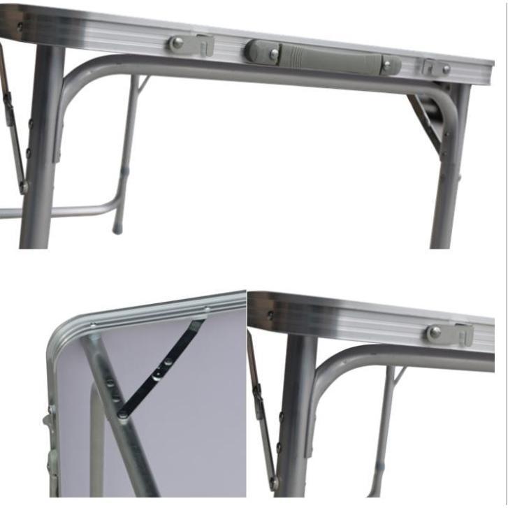 加強版折疊式鋁金屬工作檯(有傘洞/無傘洞)
