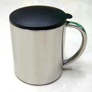 304不銹鋼馬克杯(220CC帶蓋子)