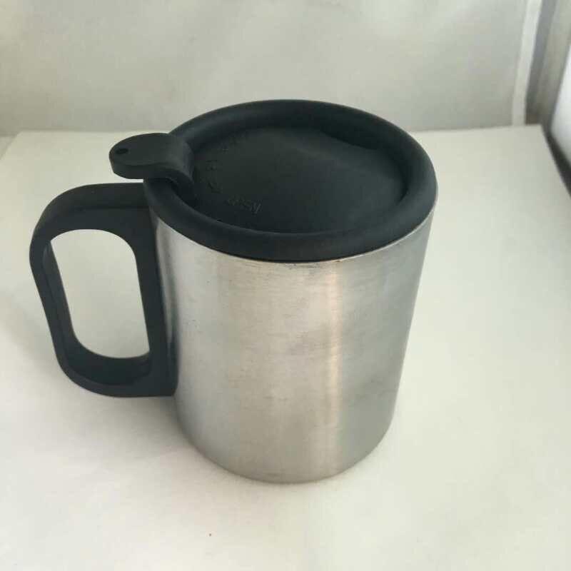 201不銹鋼型馬克杯(220ml帶蓋子)