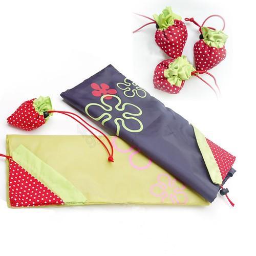 草莓購物袋