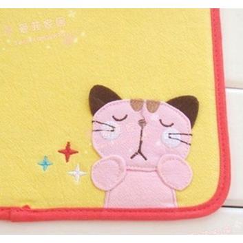可愛貓咪布藝滑鼠墊