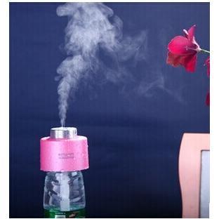 USB瓶蓋加濕器/便攜式霧化加濕器