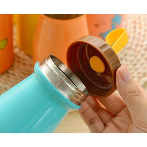 小馬卡通可愛大肚單層保溫杯/不銹鋼保溫杯(350ml)