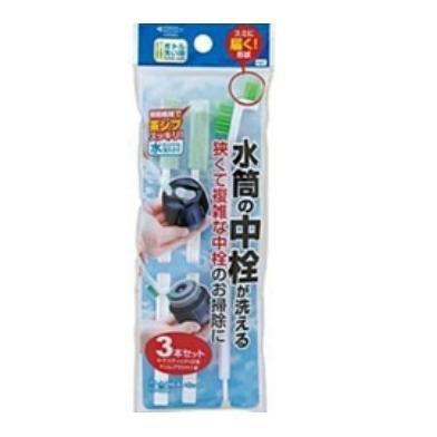 日本原裝進口瓶罐清洗刷具組