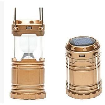 充電式太陽能露營燈/可拉伸野營燈