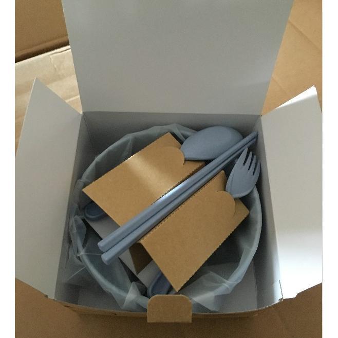 小麥環保便攜餐具組(碗筷匙叉)