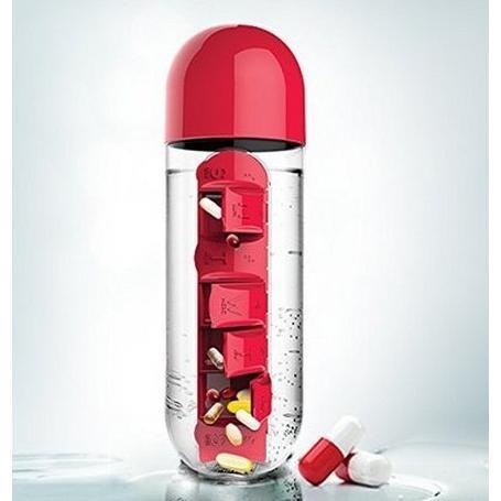 創新二合一藥盒水瓶