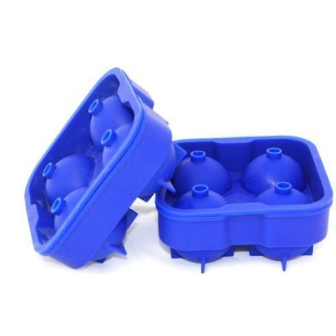 矽膠4孔冰球模具組