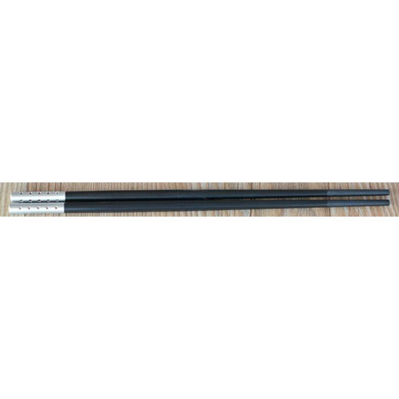 直管嵌鑽亮彩合金筷子(5雙/包)