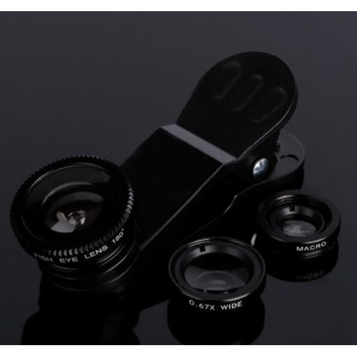 手機通用三合一外置攝像頭