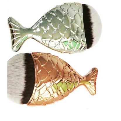 魚尾化妝刷 魚鱗化妝刷