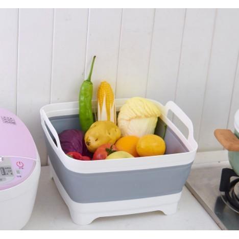 折疊便攜蔬果瀝水籃