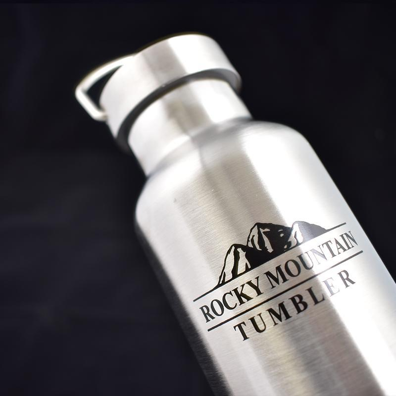 ROCKY MOUNTAIN 304雙層真空運動水壺保冰保溫瓶(600ml)