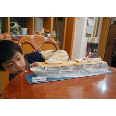 樂立方美國遊輪3D立體拼圖玩具 T4006h