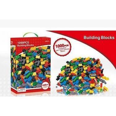 益智DIY積木玩具1000粒