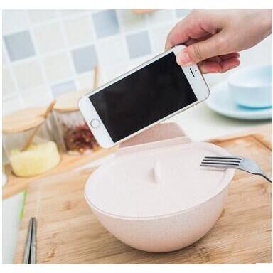 泡面碗懶人手機座