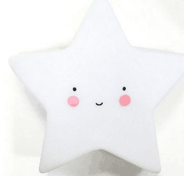創意小夜燈 發光玩具(星星款)