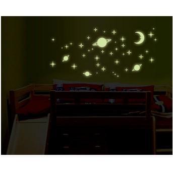 創意夜光小宇宙星空DIY壁貼