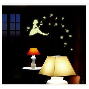 創意螢光夜光DIY壁貼