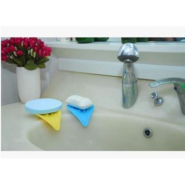 創意花瓣形瀝水盤防滑肥皂盒