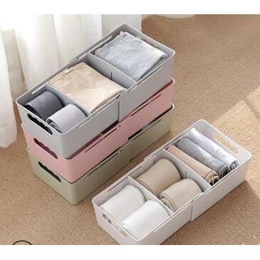 多功能可伸縮分隔桌面收納盒置物架