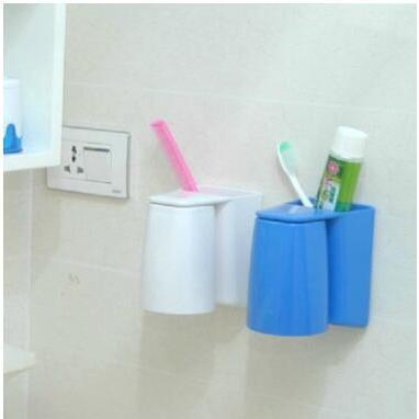 吸盤牙刷架洗漱架套裝