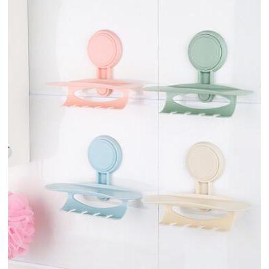 意浴室吸盤牙刷架掛式置物架
