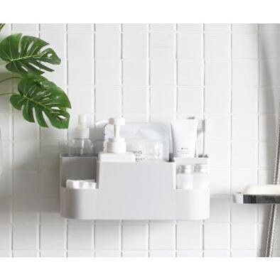 創意吸壁式置物架收納盒