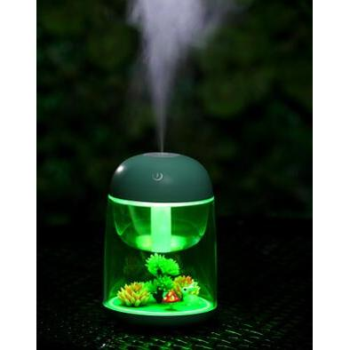 創意USB小夜燈加濕器空氣淨化