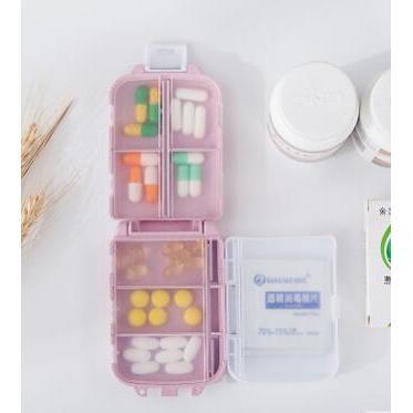 便攜式環保無毒密封三層小藥盒