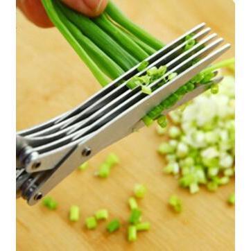 5層多功能不銹鋼廚房剪刀