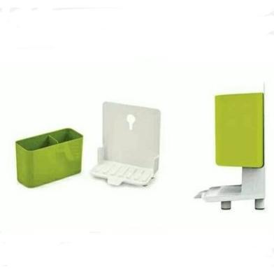 創意收納盒雙層瀝水置物架
