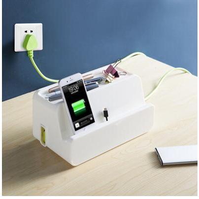 散熱電源線插座收納盒整理盒