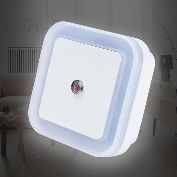 智能光控自動閉關LED感應燈(方形)