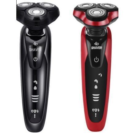 USB充電三刀頭水洗刮鬍刀