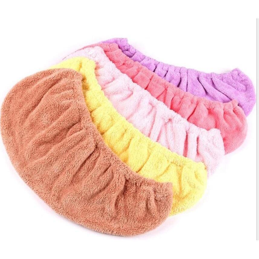 加厚加大吸水珊瑚絨乾髮帽