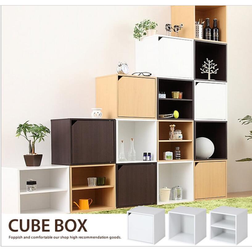 DIY自由組合收納櫃(帶層板)
