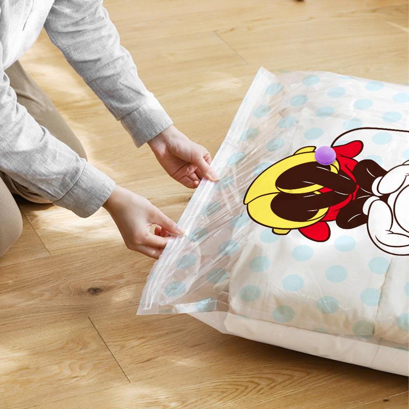 迪士尼授權四大四中真空壓縮袋(+抽氣泵)