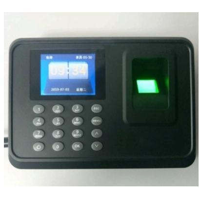 多功能考勤機 指紋打卡機(簡繁中文版)