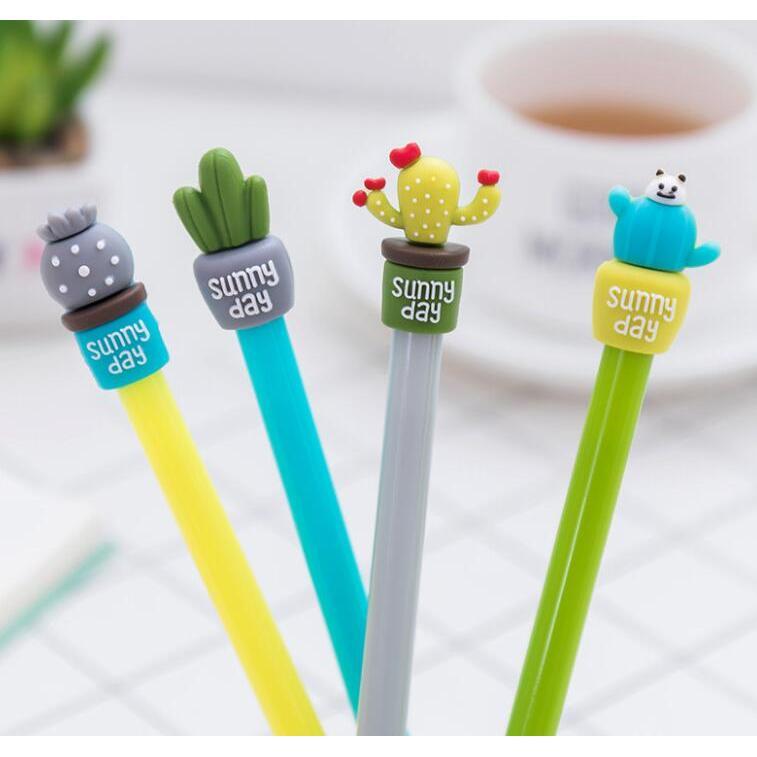 仙人掌盆栽造型中性筆