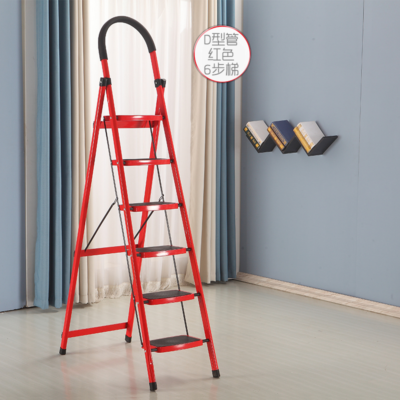 天花板救星-超高7階加厚折疊行動樓梯(約210CM)