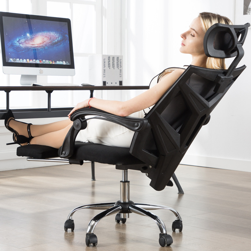 熱銷日本可躺可擱腳可升降可旋轉人體工學椅(乳膠款)