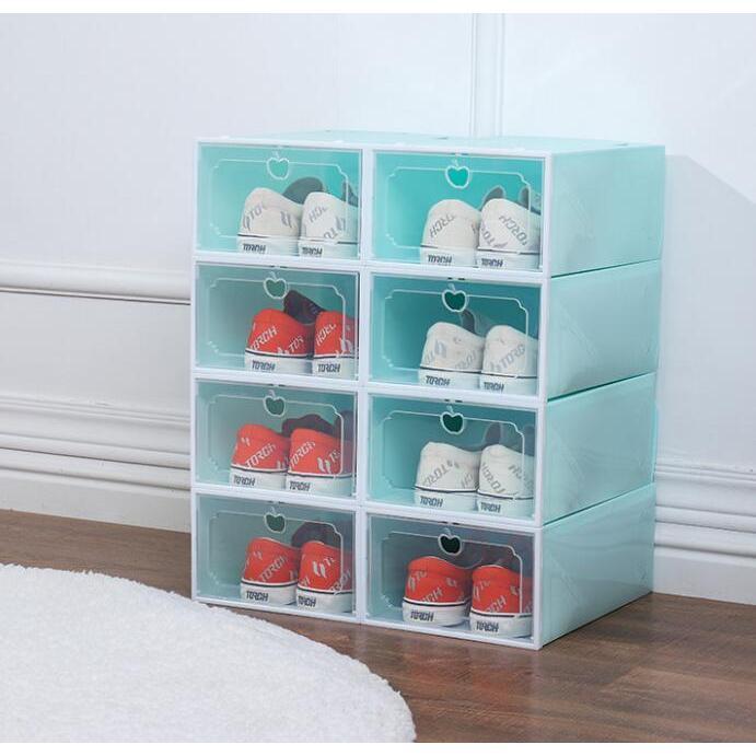 加厚組裝折疊抽屜式鞋盒(大號)