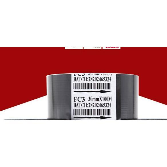 耗材配件:打碼機色帶FC3(30MM*100M)