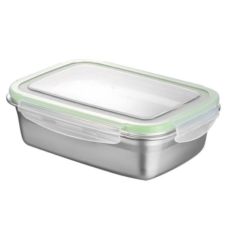 不銹鋼封盒保鮮盒(2800ML)
