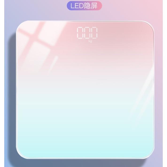 LED隱屏體重計電池款