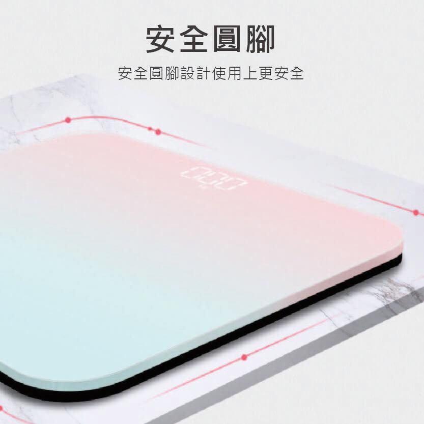 LED人體秤隱屏體重秤(USB款)