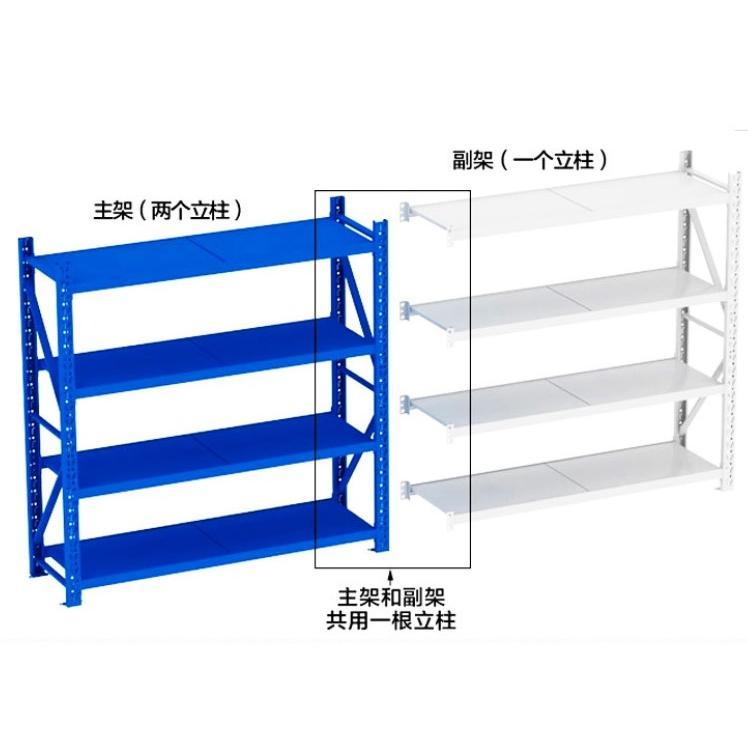 多功能中型多層置物架儲物副架(200*60*200cm)