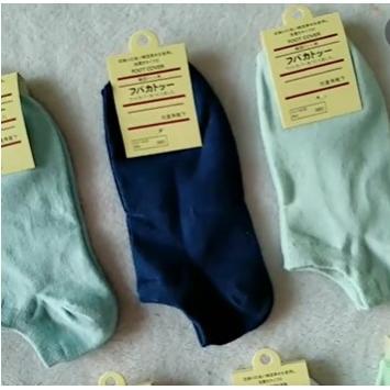 純色淺口薄棉襪襪子